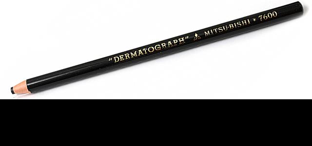 Lapis Dermatografico Preto
