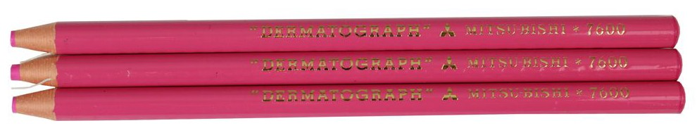 lapis dermatografico mitsubishi rosa