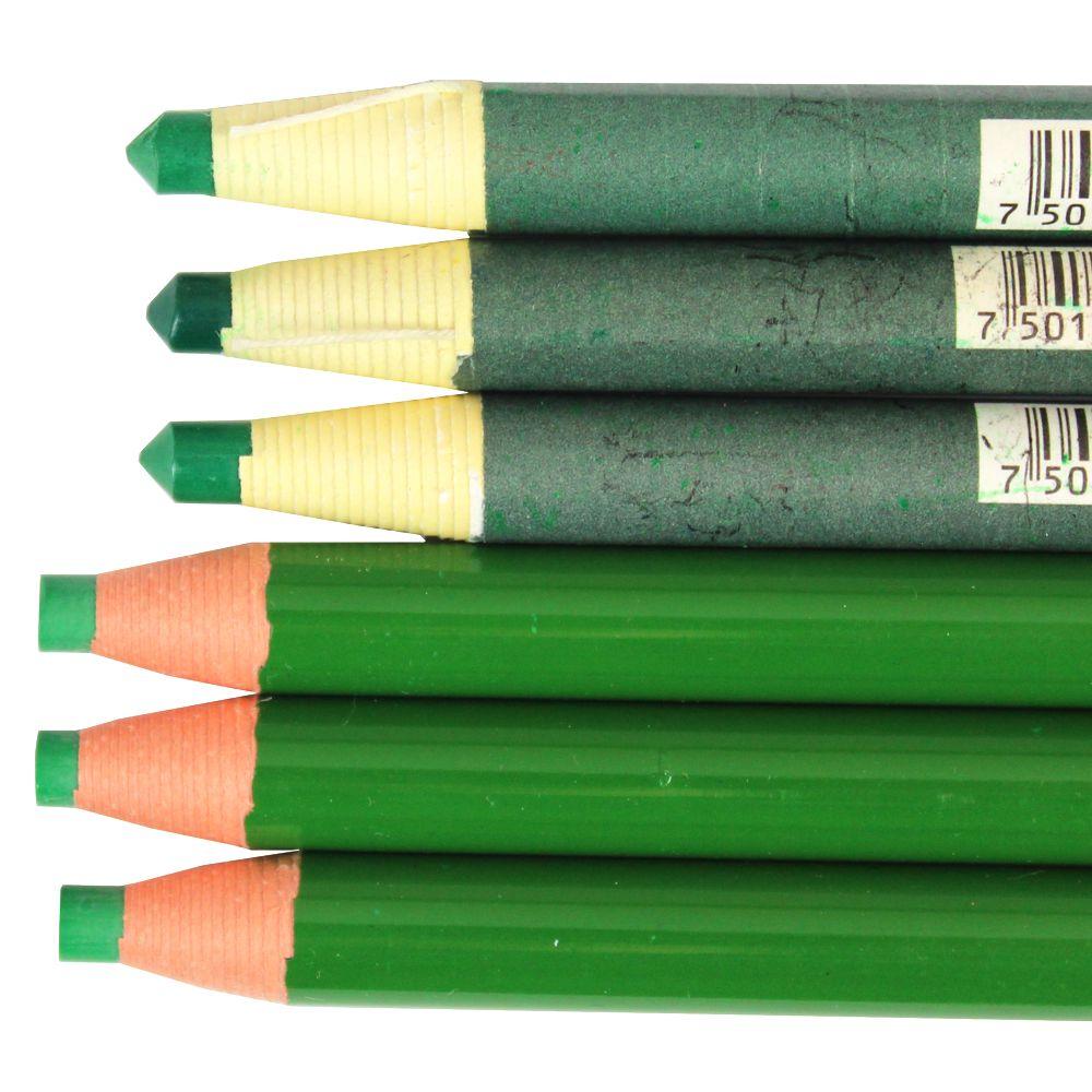 lapis dermatografico verde mitsubishi pelikan green